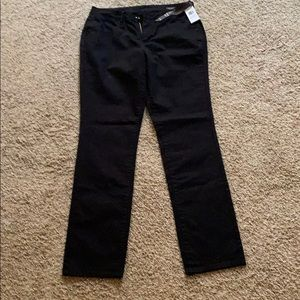 Jag Mid Jane Slim tall black jeans